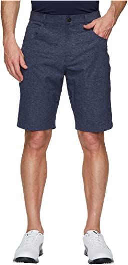 Heather Six-Pocket Shorts