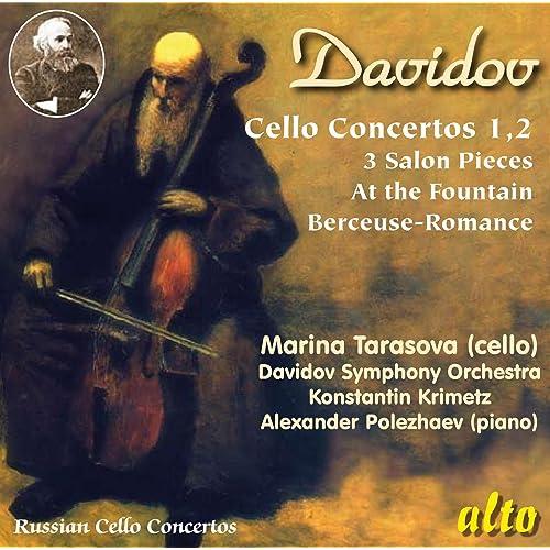 Davidov Cello Concertos By Marina Tarasova Alexander Polezhaev