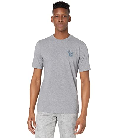 TravisMathew Night Swimming T-Shirt (Heather Grey) Men