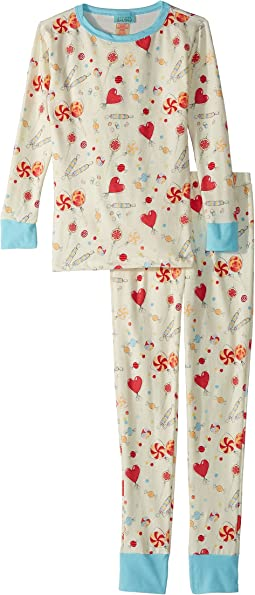 BedHead Kids - Long Sleeve Long Pants Set (Big Kids)