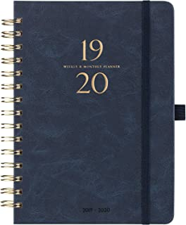 2019-2020 Planner - Weekly & Monthly Planner with Tabs & Gift Box, 6.4