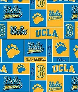 University of California Los Angeles Bruins Fleece Fabric - 60