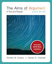 Looseleaf for Aims of Argument: A Text and Reader MLA Update 2016