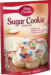 Betty Crocker Cookie Mix, Sugar, 17.5 oz