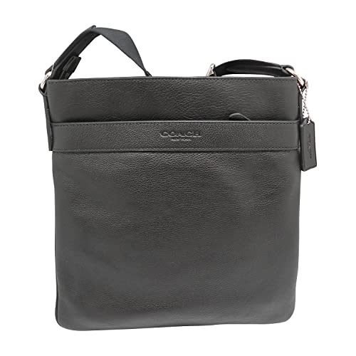 01a41df9f321 Coach Bowery Mens Crossbody Bag - Genuine Leather in Black