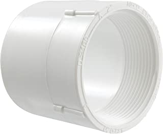 NIBCO 435 Series PVC Pipe Fitting, Adapter, Schedule 40, 2