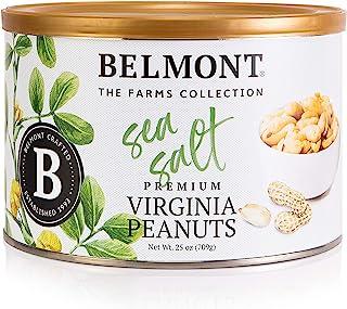 Belmont Peanuts Sea Salt Virginia Peanuts, 25oz, Farms Collection