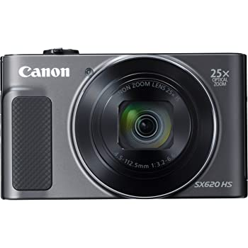 Canon コンパクトデジタルカメラ PowerShot SX620 HS ブラック 光学25倍ズーム/Wi-Fi対応 PSSX620HSBK