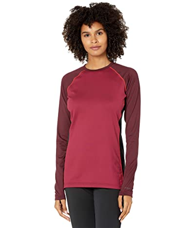 Burton Midweight X Base Layer Crew (Port Royal/Spiced Plum) Women