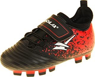 Botas de fútbol con tacos para césped artificial Gola Activo5 para niños