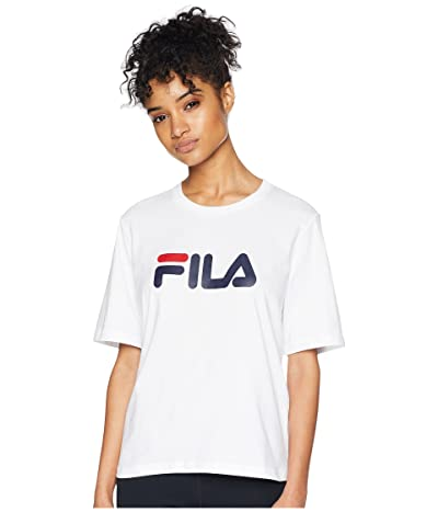 Fila Miss Eagle Tee (White/Navy/Red) Women