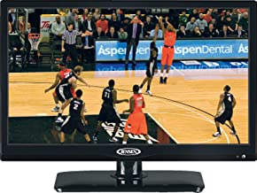 "ASA Jensen JTV1917DVDC 19"" Inch LCD TV with Built-In DVD Player, DC Power"