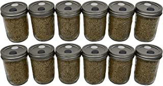 BRF Jars Brown Rice Flour Mushroom Substrate (12 Pack)