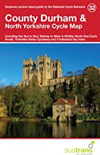 County Durham & North Yorkshire Cycle Map 32: Including the Sea to Sea, Walney to Wear & Whitby, North Sea Cycle Route, Yorkshire Dales Cycleway & 5 Individual Day Rides