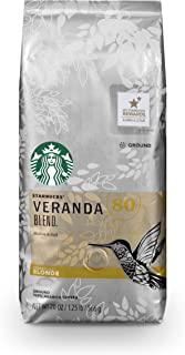 Starbucks Veranda Blend Light Blonde Roast Ground Coffee, 20 Ounce (Pack of 1) Bag
