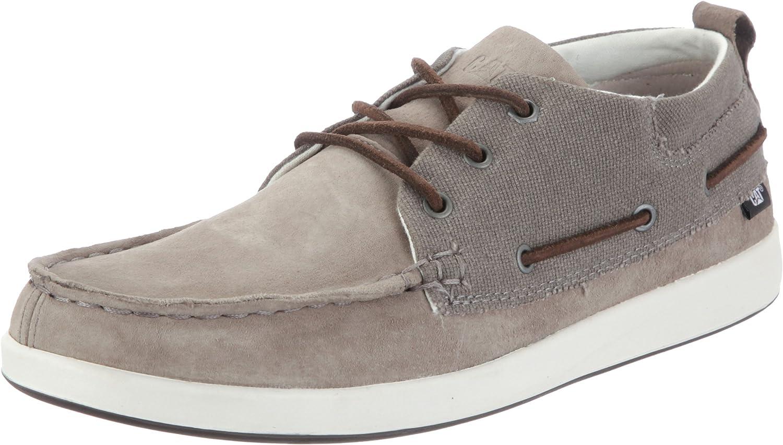 Cat Men's Alec Boat shoes Grey