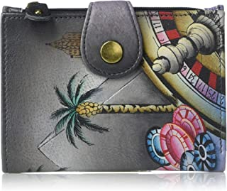 Genuine Leather Ladies Wallet | Hand-Painted Original Artwork