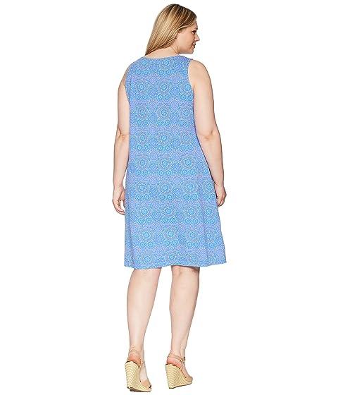 cuello Plus Vestido Fresh cuadrado Size Fresh Produce by Shells azul Extra peri Mosaic de 6SwvqI68
