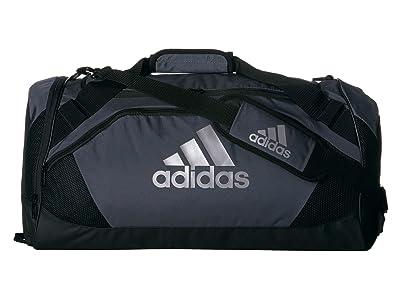 adidas Team Issue II Medium Duffel (Onix/Black) Duffel Bags