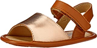 OLD SOLES Baby Girls Bambini Splash Luxurious Pre and First Walker Sandal, Copper/Tan