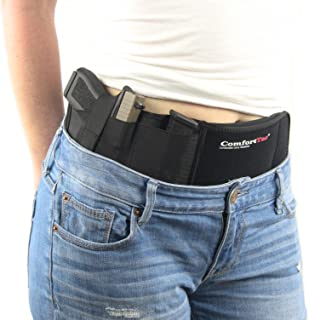Ultimate Belly Band Holster for Concealed Carry, Black