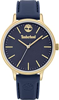 Timberland Chesley Women's Analogue Quartz Watch with Blue Dial and Blue Silicone Strap - TBL.15956MYG-03P