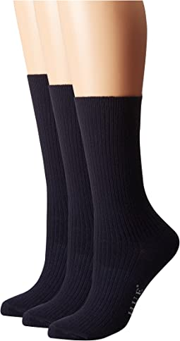 Relaxed Top Socks 3-Pack