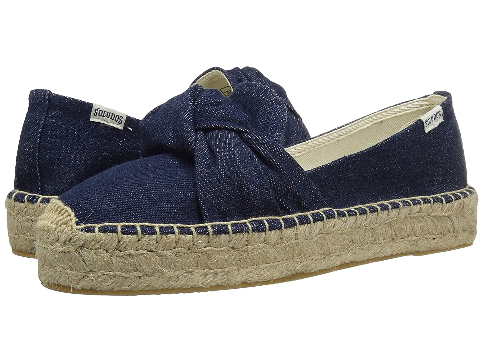 Soludos Knotted Platform Smoking SlipperCheap and distinctive eye-catching shoes