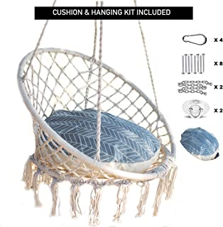 crochet hammock swing chair