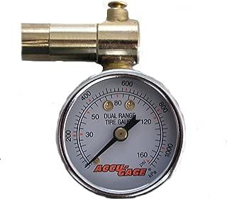 AccuGage Tire Pressure Dial Gauge (Renewed)