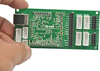 CtrlDepot Brook Fighting Board Fight Board PCB DIY Kit for PS3/PS4/PC Support TouchPad/Turbo with Dupont Wire Cable