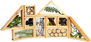 Excellerations Refillable Window Blocks Wood Classroom Set for Young Learners(Set of 10)