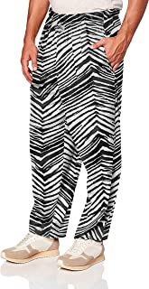Zubaz Unisex Zebra Print Leggings