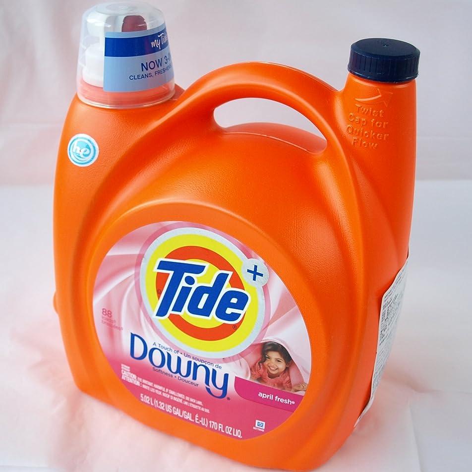 過度のアレイマスクタイド リキッド プラス ダウニー エイプリルフレッシュ 液体洗濯洗剤 5.02リットル