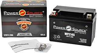 YTZ14S, GTZ14S, PTZ14S, UTZ14S Replacement Battery 250cca High Performance WPZ14S Sealed AGM for Honda, Yamaha, KTM, BMW