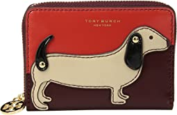 Tory Burch - Dachshund Zip Coin Case