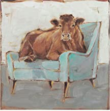 Trademark Fine Art WAG15699-C2424GG Moo-ving in IV by Ethan Harper, 24x24,