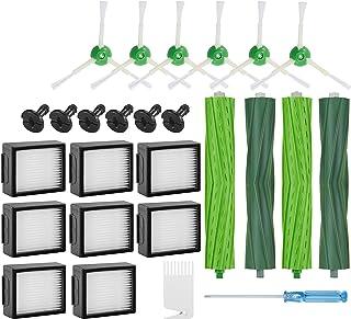 Supremery Zestaw 26 części zamiennych do iRobot Roomba i7 i7+ e5 e6 e7 odkurzacz robot filtr szczotka akcesoria
