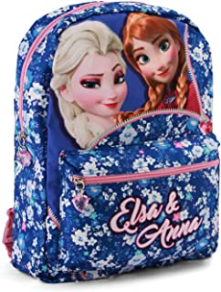 Frozen Zipper Mochila infantil reversible, 40 cm, Multicolor