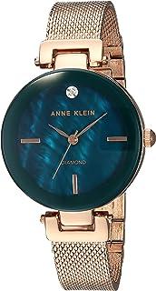 Anne Klein Women's Dial Stainless Steel Band Watch - AK2472NMRG