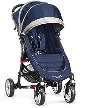 Baby Jogger City Mini 4 - Silla de paseo, color azulón/gris