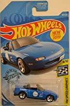 Hot Wheels '91 Mazda MX-5 Miata Blue 184/250 HW Speed Graphics Series 1:64 Scale Collectible Die Cast Model Car