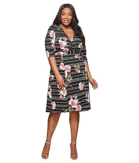 f1f52a33426 Kiyonna Essential Wrap Dress at 6pm