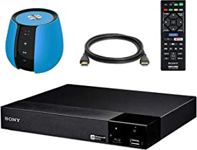 SONY BDP-S3700 Blu Ray Disc Player with WiFi + 6 Feet HDMI Cable + Orei Bluetooth Speaker