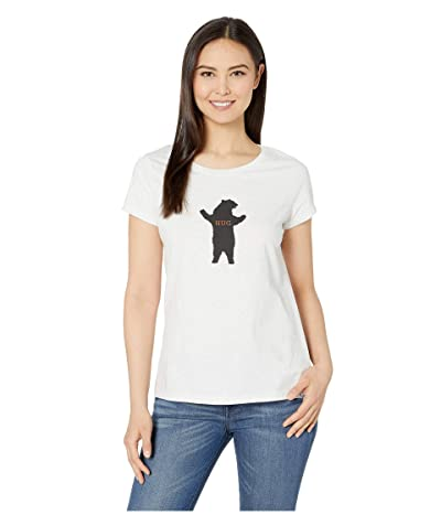 Prana Climbing Tee (White Bear) Women