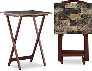 Best marble tray table set Reviews