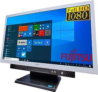 【超大HD液晶】SSD新品換装·無線LAN対応 富士通 第4世代Core i5 23インチワイド 一体型 ESPRIMO K555 マウス&キーボード付属 メモリ8GB USB3.0 Office付き Windows10 Webカメラ パソコン...