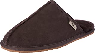 Grosby Buck UGG Men's Slippers, Chocolate, 10 AU