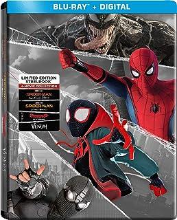 Spider-Man: Far from Home / Spider-Man: Homecoming / Spider-Man: Into the Spider-Verse / Venom (2018) - Set [Blu-ray]