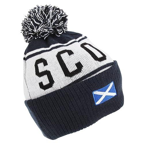 f38d3b9c0c31ae Devoted2style Adults Unisex Scotland Winter Hat